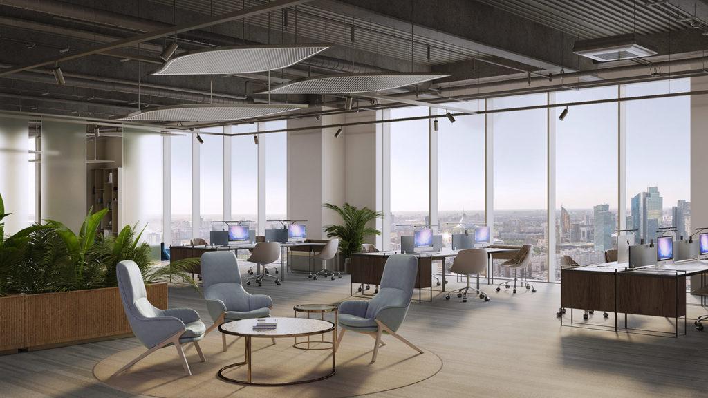 Thiết kế nội thất văn phòng với chi phí hợp lý