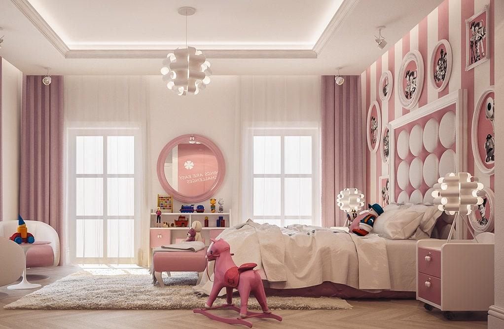 Thiết kế nội thất phòng ngủ dành cho trẻ em