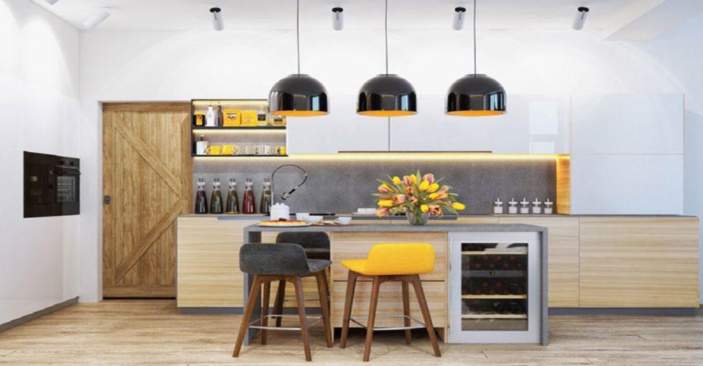 thiết kế và thi công bếp