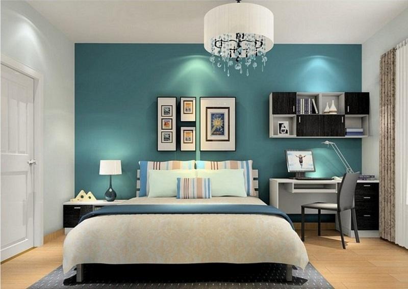 Thiết kế phòng ngủ đẹp hiện đại cho người mệnh Thủy
