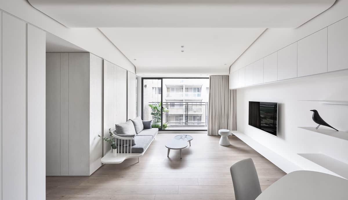 Phong cách thiết kế nội thất cao cấp tối giản