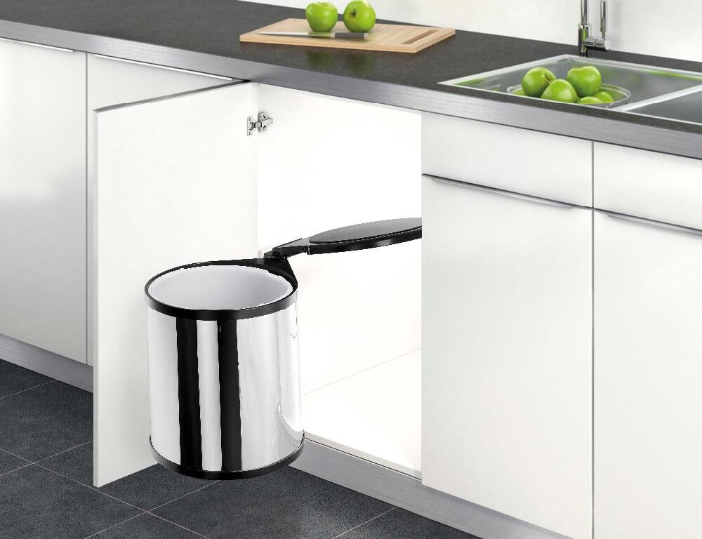 Có nên sử dụng thùng rác thông minh trong thiết kế và thi công bếp?