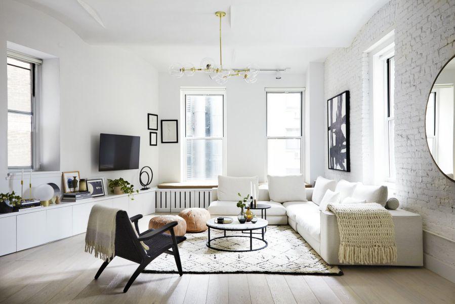 Thiết kế nội thất căn hộ chung cư sang trong, tinh tế