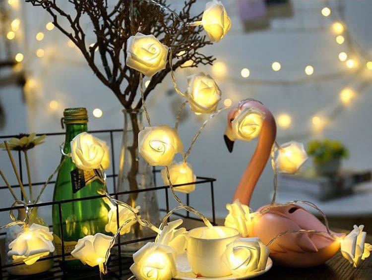 Đèn nhấp nháy là lựa chọn thật sáng tạo khi thiết kế nội thất