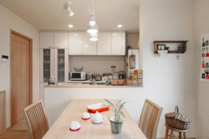 thiết kế và thi công nội thất nhà bếp phong cách Nhật Bản