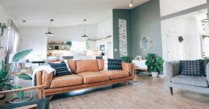 Sơn mới và thay đổi nền, sàn cho ngôi nhà trong thiết kế nội thất ngày Tết