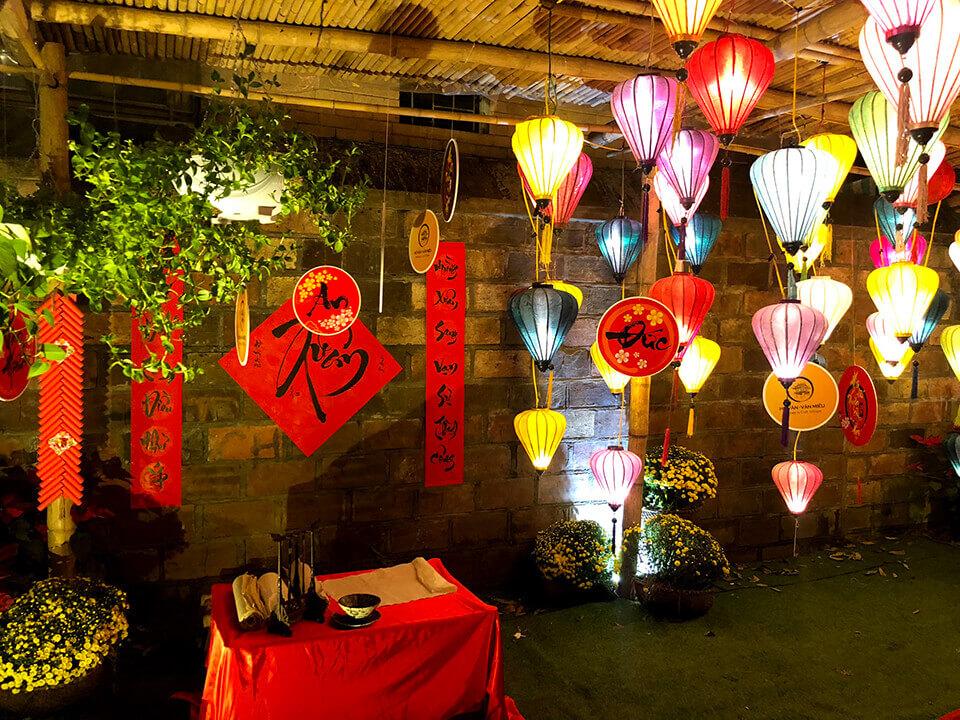 Đèn lồng là nét đẹp trong văn hóa Việt Nam,