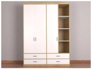 Tủ quần áo giúp sắp xếp đồ dùng tiện ích và gọn gàng hơn
