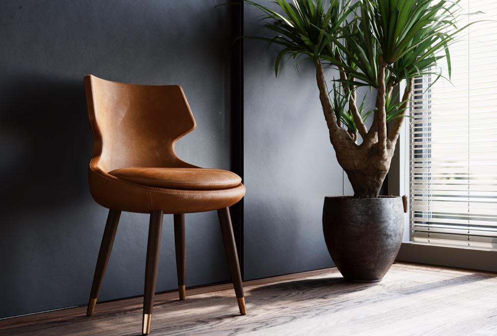 Nhiều cái ghế trong thiết kế nội thất